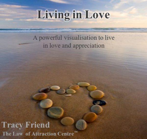 AUDIO: Living in Love [MP3 Audio Recording], Tracy Friend
