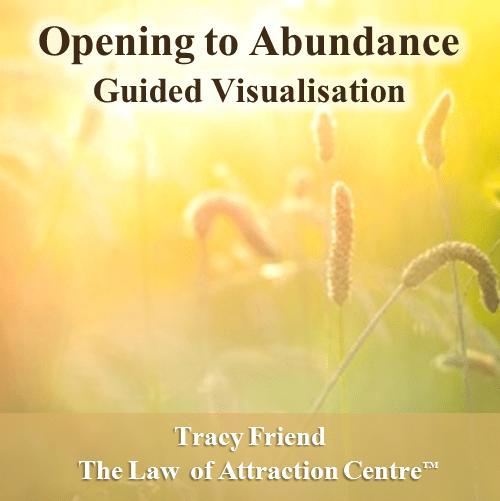 AUDIO: Opening to Abundance (MP3 Audio Recording), Tracy Friend